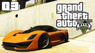 GTA 5 CAR STUNTS #03 (GTA V Jumps, Stunts and Crashes)