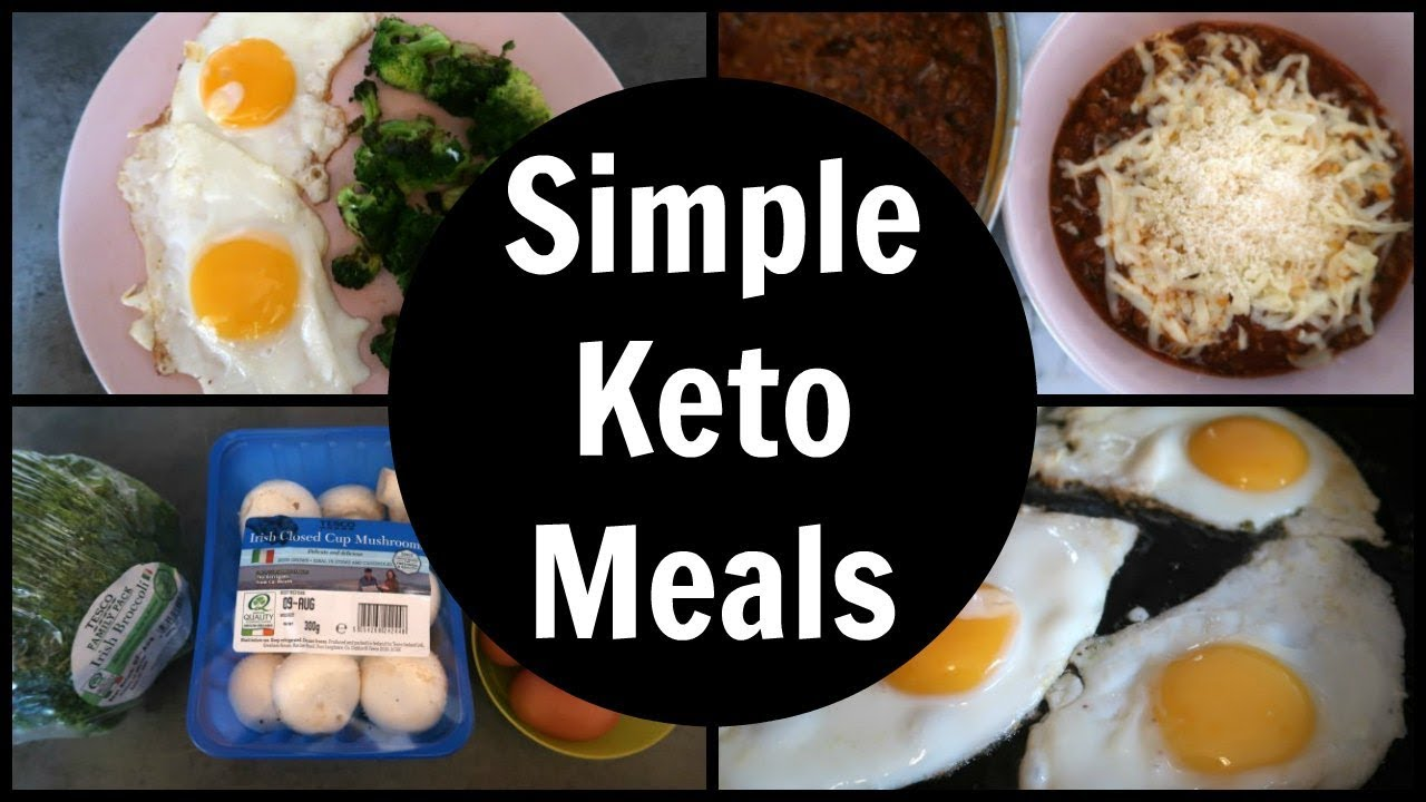 Simple Keto Meals Full Day Of Low Carb Ketogenic Diet Eating Youtube