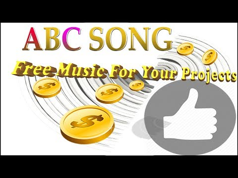 ABC Alphabet Song - Instrumental Karaoke FREE CHILDREN Creative Common Music To Monetize || NCS ✔