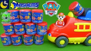 Paw Patrol Toys NEW Mashems Series 4 Crystal Squishy Stretch Surprise Blind Bags Marshall Toys Video