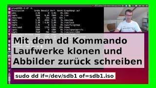 dd Kommando - USB Laufwerk/Festplatte kopieren sichern ISO Abbild auf Speicherstick schreiben WLBI