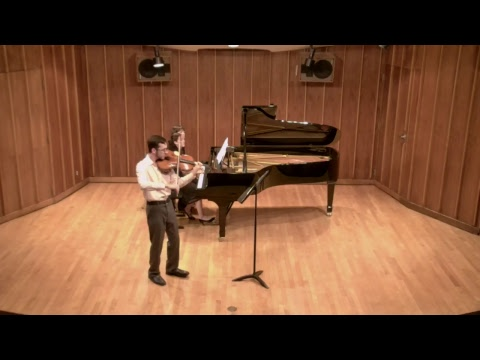 Jacob Anderson, Viola; Recital Starts 02/11/2018 at 7:30pm AZ Time