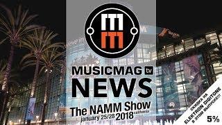 Новости NAMM 2018 - Elektron Digitone, Behringer Neutron, музыкальный Android и др.