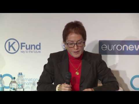 KIEF 2016. Panel discussion: Ukraine on the Global Economic Map (partner - Euronews)