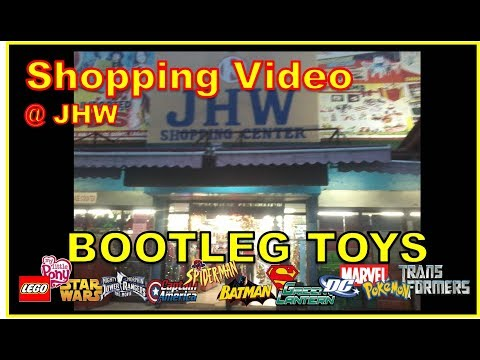 BOOTLEG TOY Shopping Video at JHW | Power Rangers, Transformers, Avengers , My Little Pony, etc