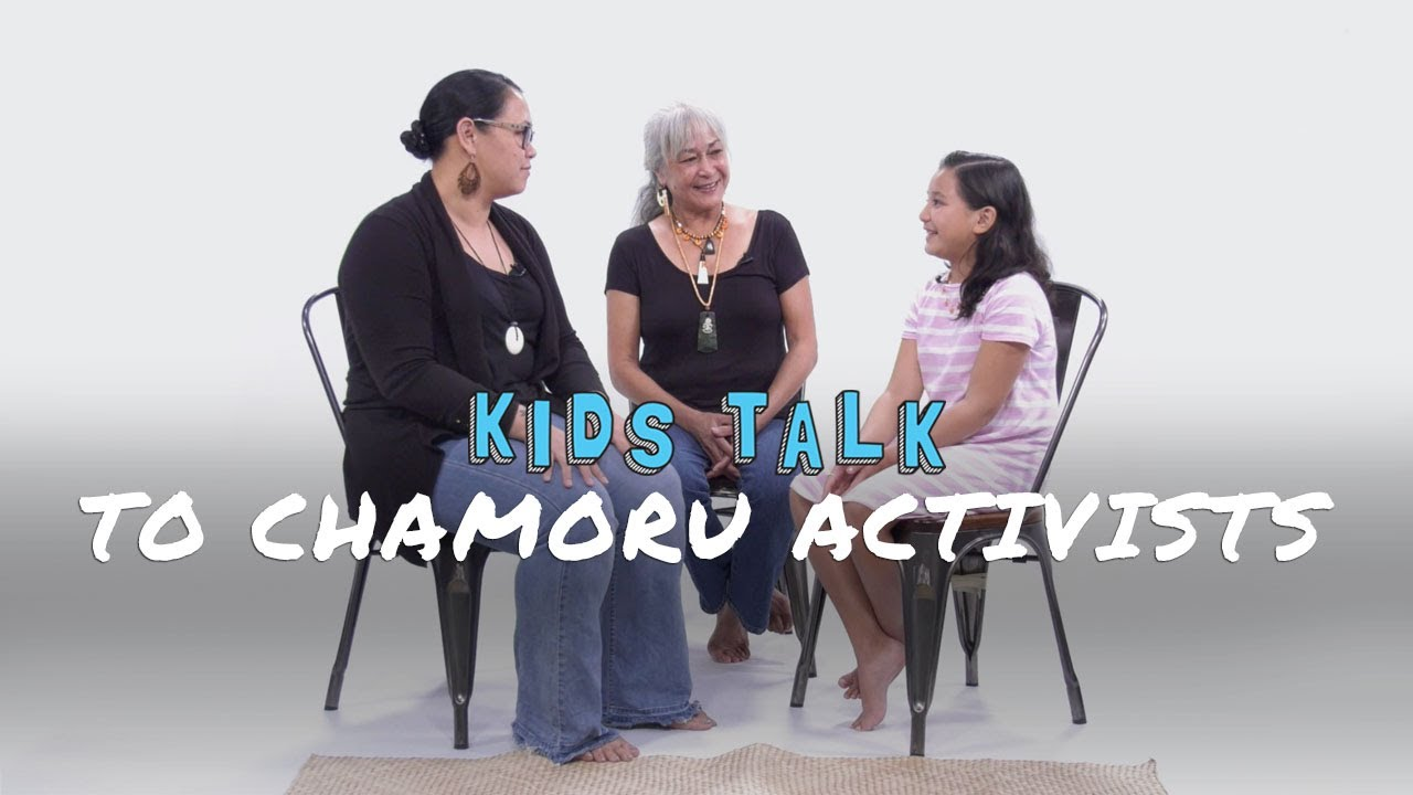 Nihi! KIDS TALK to Chamoru Activists | KIDS TALK | Nihi!