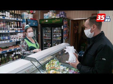 Сшита первая партия масок на предприятии в Вологодском районе
