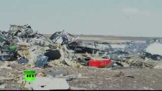 First video from 7K9268 A321 crash site in Sinai