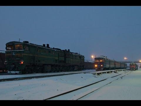 ДР1А-307 и ДР1А-317 (Стерлитамак) / DR1A-307 and DR1A-317 DMU trains (RZD, Sterlitamak)