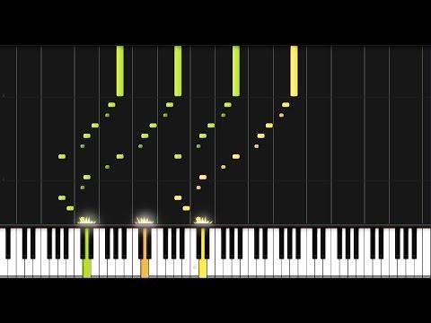 Beethoven: Piano Sonata No. 7 in D major - Complete [Piano Tutorial] (Synthesia)