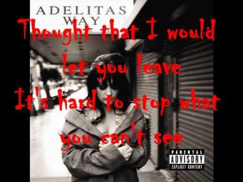 ADELITAS WAY - MY DERAILMENT LYRICS