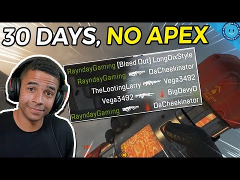 I Stopped Playing Apex Legends For A Month. Here's What Happened When I Came Back. (Gameplay)