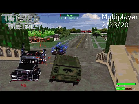 Twisted Metal Multiplayer 2-23-20