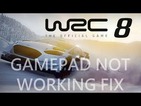 WRC 8,WRC 8 FIA World Rally Championship Gamepad Not Working Fix   Steering Wheel Not Detected Fix