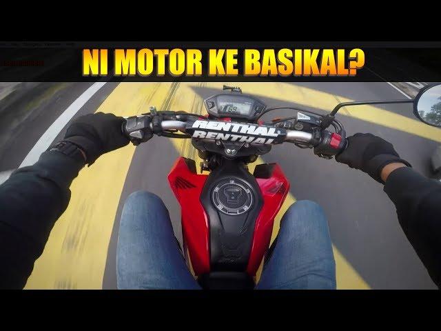BIKE REVEAL | SESAT DI GOMBAK | BUDAK JUMP FLY TAK JADI