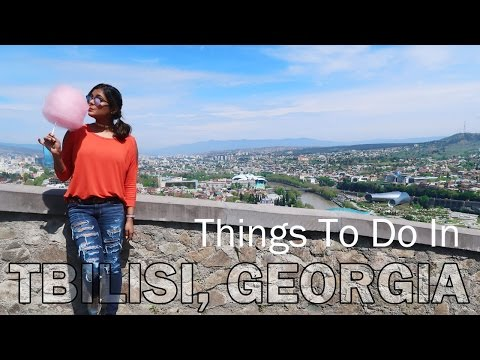 GEORGIA TRAVEL VLOG - Things To Do In Tbilisi - Sakartvelo -