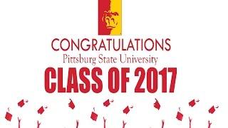 SP17 Graduation Ceremony - Ms. Katelyn Marie Flood (outstanding senior women speech)