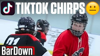 USING CRINGY HOCKEY TIKTOK CHIRPS IN A GAME