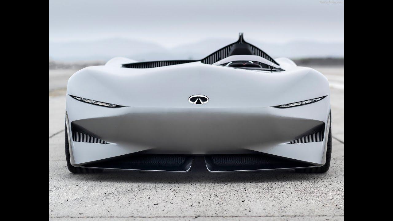 Infiniti Prototype 10 Electric Sport Roadster Car Concept Youtube
