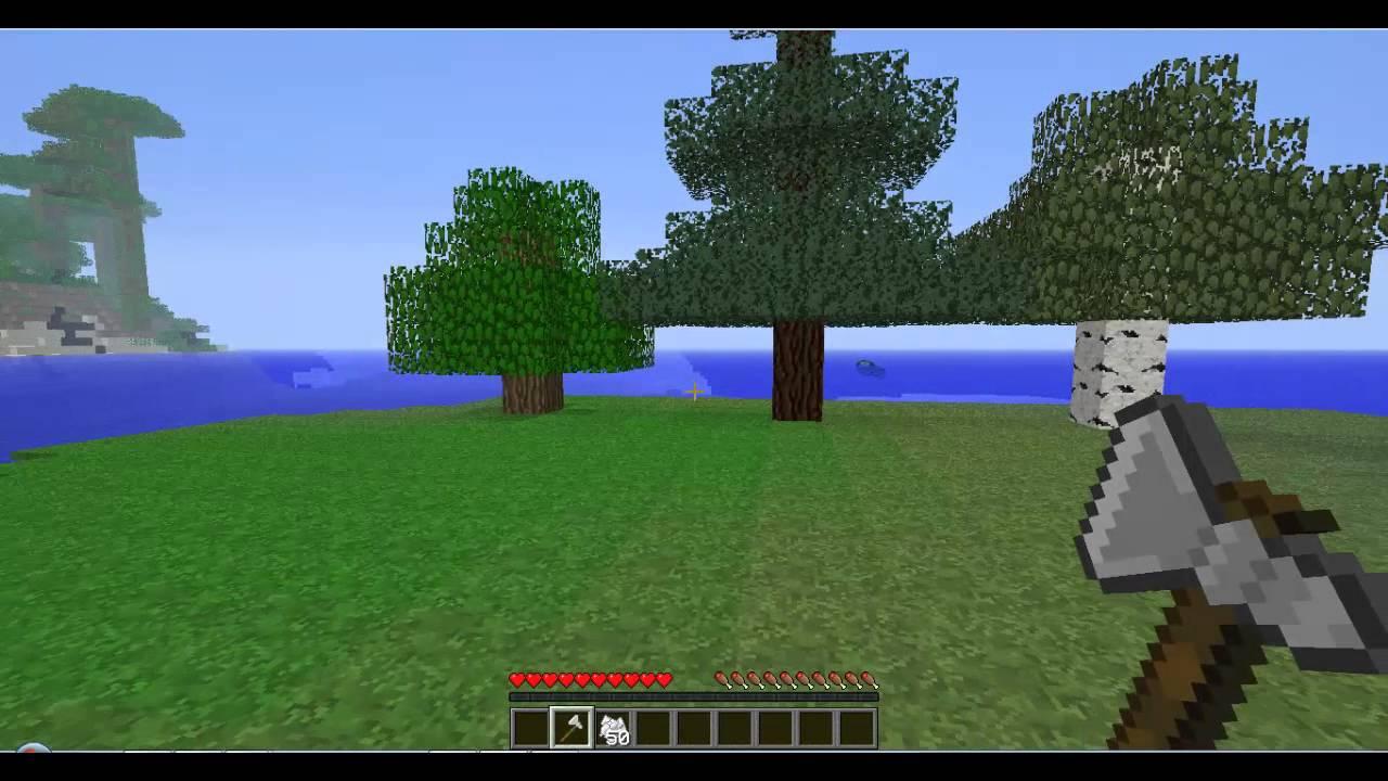 скачать моды на майнкрафт 1.7.10 на моментальную срубку дерева