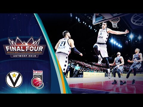 Segafredo Virtus Bologna v Brose Bamberg - Full Game - SF - Basketball Champions League 2018