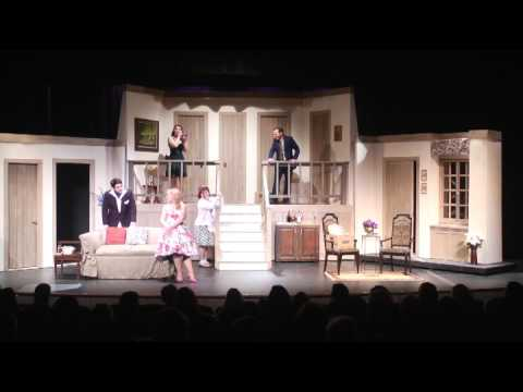 NOISES OFF! at the Old Library Theatre