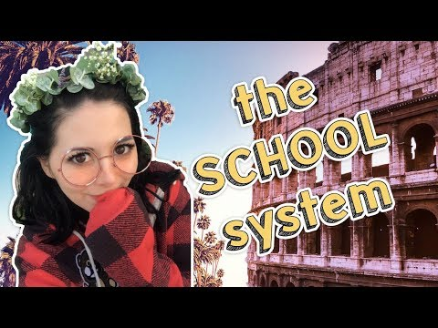 US SCHOOL SYSTEM VS ITALIAN SCHOOL SYSTEM ✏️