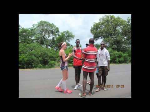 Running and Singing to Banjul, The Gambia