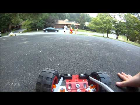 GoPro Erector-Set Buggy Action!