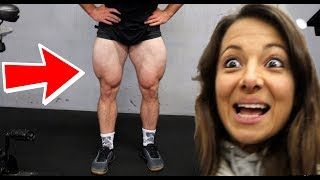 AIRBIKE workout for HUGE LEGS (May surprise you)