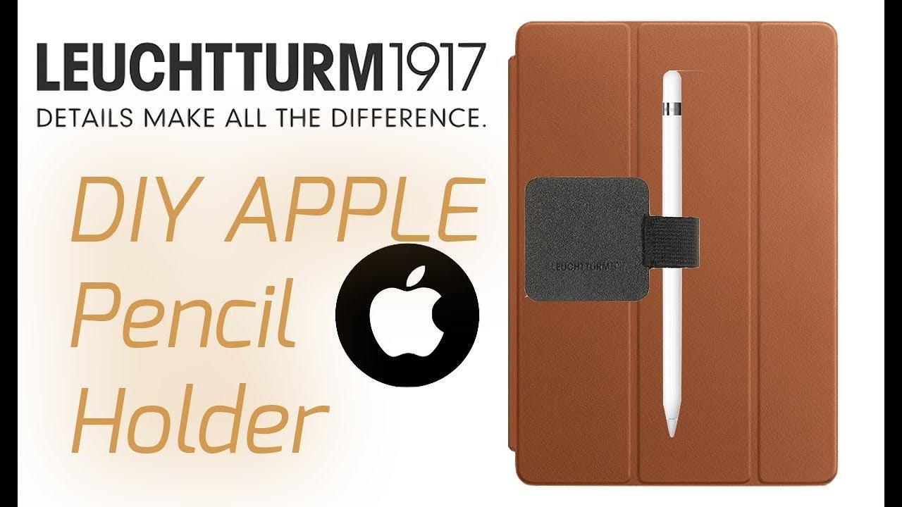 apple pencil holder diy how to attach apple pencil tutorial
