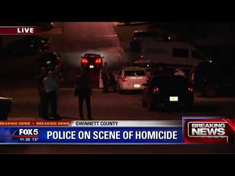 Gwinnett County Police investigate homicide