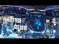 Coolest Tech at CES 2019 + FULL Google Amusement Ride experience!