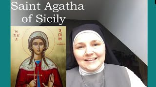 St Agatha - with Sr Bernadette, FoH