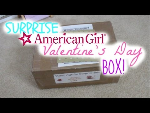 Surprise American Girl Valentine S Day Box Youtube