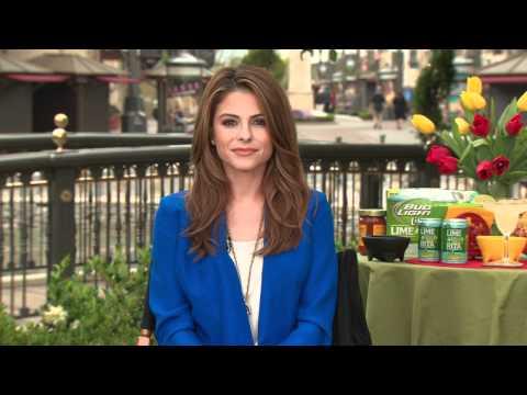 Gabrielle Compolongo Interviews Maria Menounos