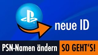 PS4 PSN Namen (Online ID) andern! So geht&#39s!