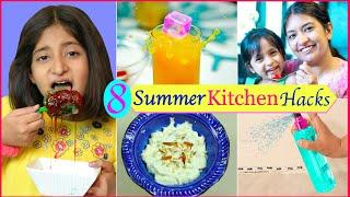 8 LIFE Saving SUMMER Kitchen Hacks  CookWithNisha