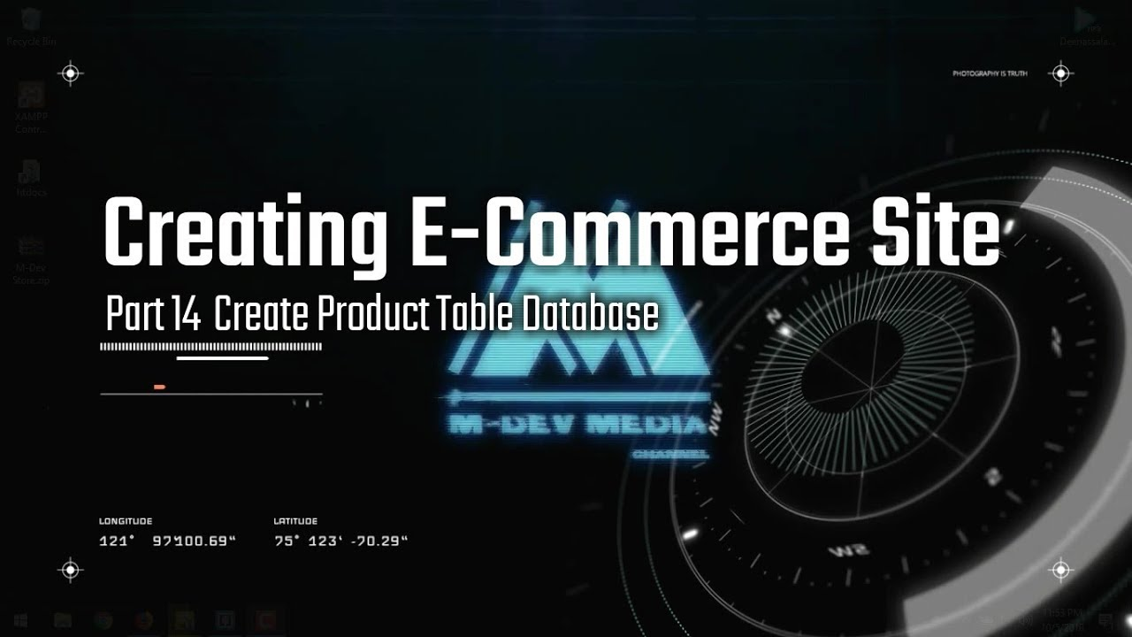 Create Ecommerce Website Tutorial : Part 14 Create Product Table Database