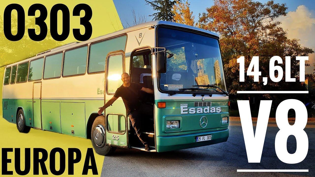 Otobus Mercedes O303 Europa Kukreyen V8 Youtube