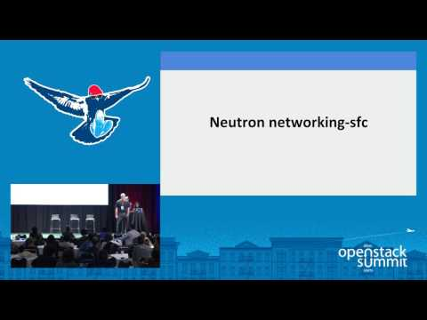 Orchestrating VNF Forwarding Graphs and SFC Using OpenDayLight, Neutron and Tacker