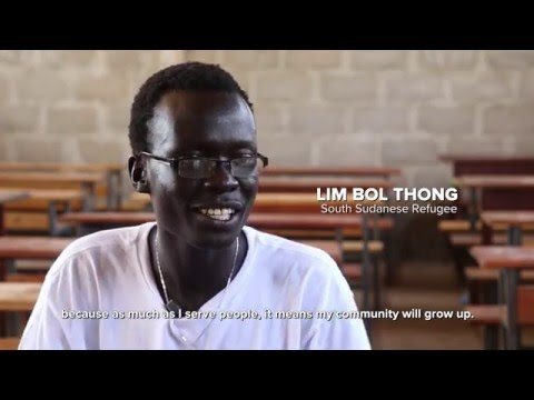 South Sudanese Teacher in Ethiopia - 30 Second Inspiration