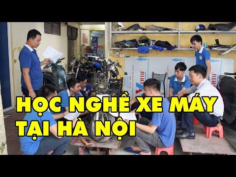 Học Nghề Sửa Chữa Xe Máy Tại Hà Nội