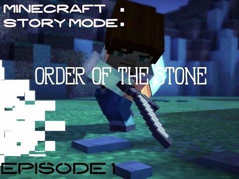 Minecraft story Mode - Episode 1 Part 1 | 8-Bit Noob