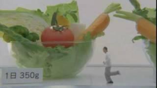 塚本高史さん出演のカゴメ「野菜生活」のCMです。
