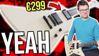 The €299 Guitar James Hetfield Would Play?!    Harley Benton EX-84 Modern Demo/Review