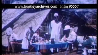Tented Safari In Kenya, 1950s - Film 95557