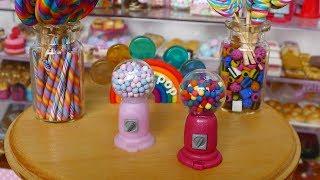 How to make Gumball Machine (miniature) DIY  ミニチュアガムボール機作り