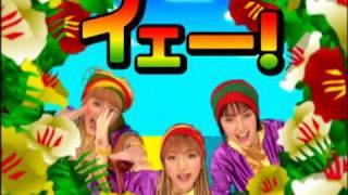 "The 2001 Hello! Project Shuffle Unit ""7nin Matsuri"" with their song..."