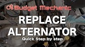 DIY Replace Alternator on Hyundai Sonata 3 3L - V6 2006